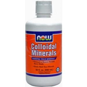 Now Foods Colloidal Minerals Original  Flavor 32 oz