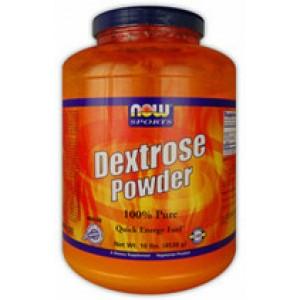 Now Foods Pure Dextrose (Corn Sugar) 10 Lbs