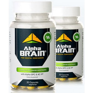 Alpha Brain Two Smart Pack