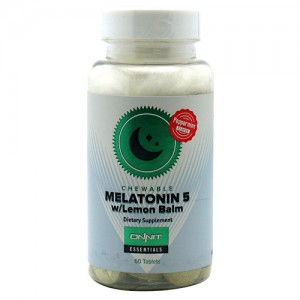 Melatonin 5 with Lemon Balm 60 Tabs