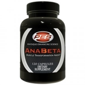 Performance Enhancing Supps Anabeta 120 Caps