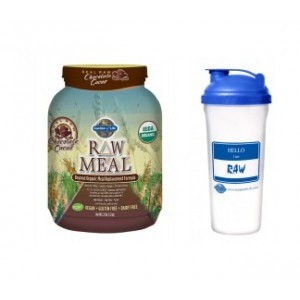 Buy Raw Meal, Get a Free Blender Bottle