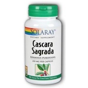 Solaray Cascara Sagrada 450mg 100 Caps