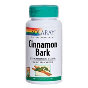 Solaray Cinnamon Bark 500mg 60 Caps