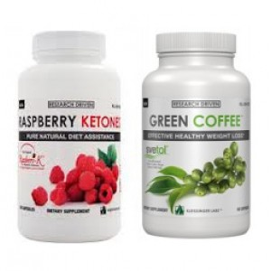 Svetol® Green Coffee Bean Extract & Raspberry Ketones Stack
