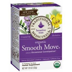 Traditional Medicinals Smooth Move Tea 16 Bags