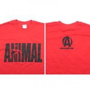 Animal Iconic Tee Red Medium