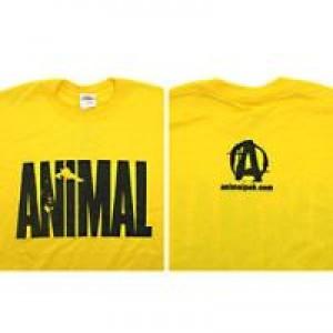 Universal Animal Iconic Tee Yellow Large