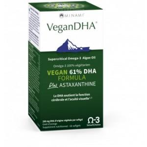 VeganDHA Orange Flavor 60 Gels
