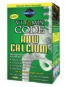 Garden of Life Vitamin Code Raw Calcium with AlgaeCal 75 Caps