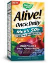 Alive! Once Daily Men's 50+ 60 Tabs