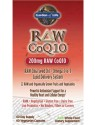 Garden of Life Raw CoQ10 200mg 60 Vege Caps