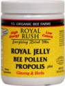 YS Organic Royal Rush Powder- RJ, Pollen, Propolis, Ginseng and Herbs 11oz
