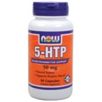Now Foods 5-HTP (Griffonia Simplicifolia) 50mg 90 Caps
